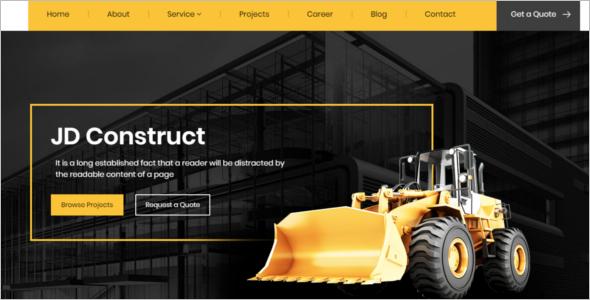 Construction & Building Joomla Template