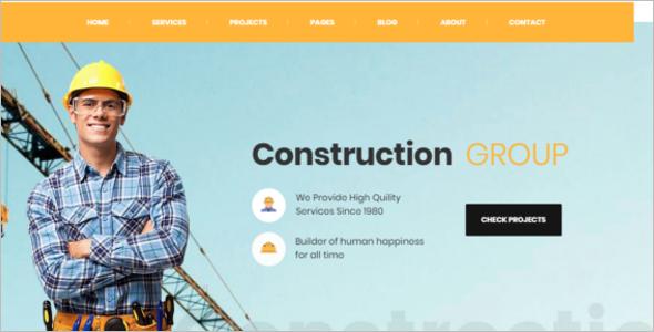 Construction & Building WordPress Theme