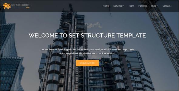 Construction Corporate Business Drupal 8 Theme