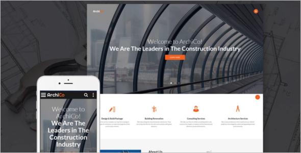 Construction Website Content Template