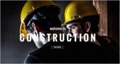 45+ Responsive Construction Website Templates