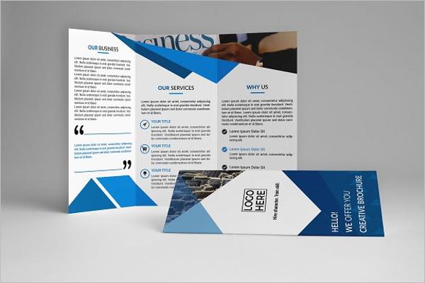 Corporate Brochure Design Idea