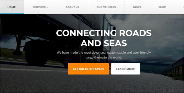 Corporate Engineer Website Template