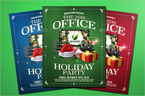 Corporate Holiday Party Template