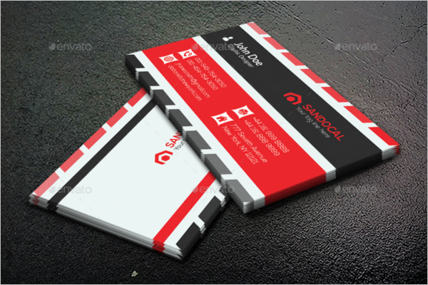 Corporate Office Business Card Design