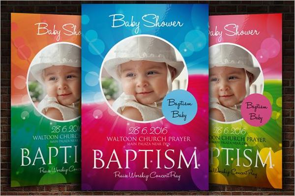 Create Baby Shower Flyer Design
