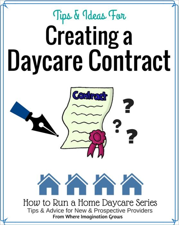 Creating a Home Daycare Template