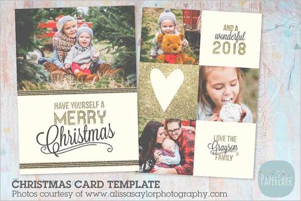 Creative Christmas Photo Template