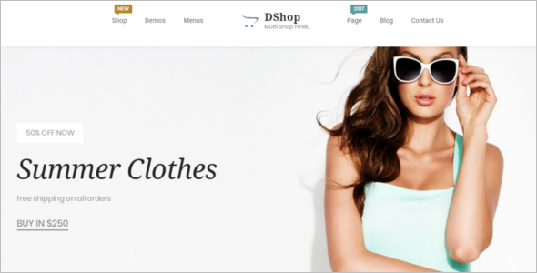 Creative ECommerce HTML Template