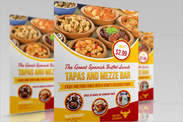 Creative Lunch Flyer Template