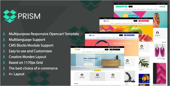 Creative Multipurpose Ecommerce Theme
