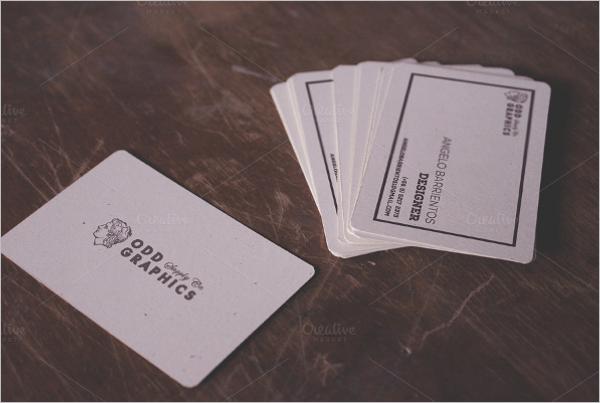Creative Notebook Business Card Template