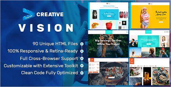 Creative Portfolio Website Template