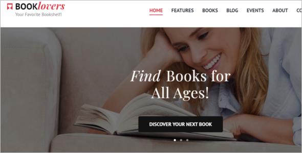 Creative Writing Website Theme