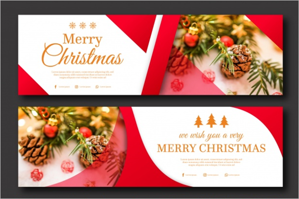 Culture Christmas banner Template