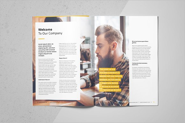 Custom Business Brochure Template