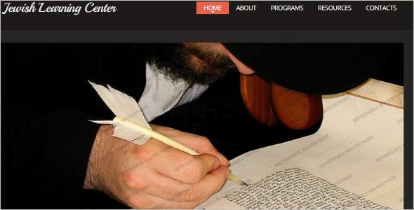 Custom Church Website Template