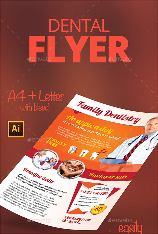 Customizable Dental Flyer Template