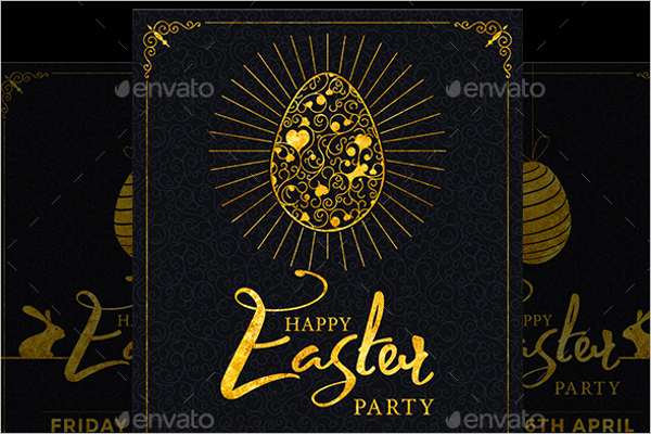 Customizable Easter Flyer Template