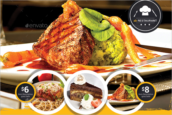 Customizable Lunch Flyer Template