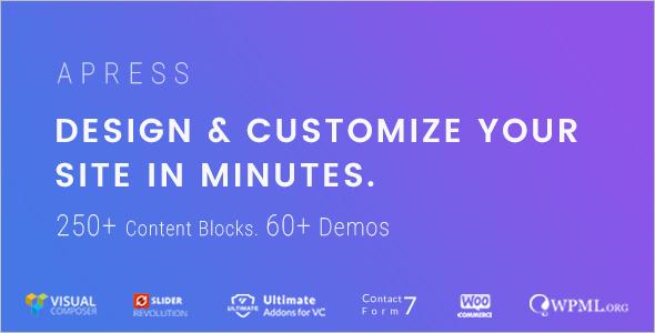 Customizable MultiPurpose WooCommerce Theme