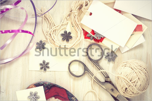 Decorative Christmas Craft Template