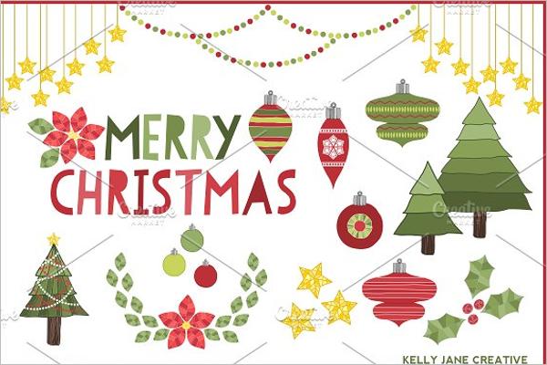 Decorative Christmas Tree Template