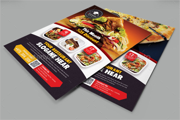 Delicious Lunch Flyer Template