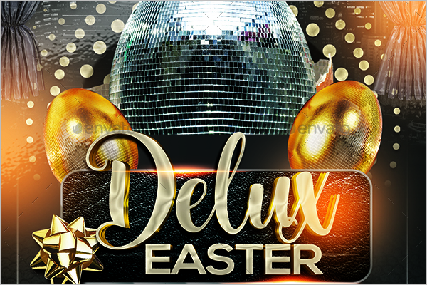 Delux Easter Flyer Template
