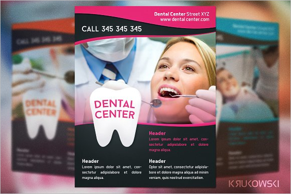 Dental Center Flyer Design