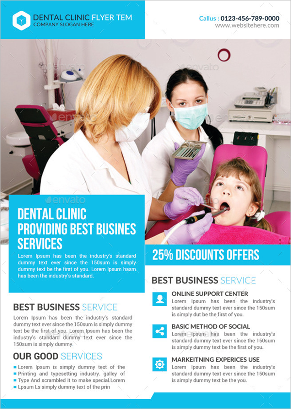 Dental Clinic Flyer Bundle