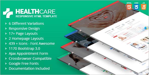 Dental Clinic HTML5 Website Template