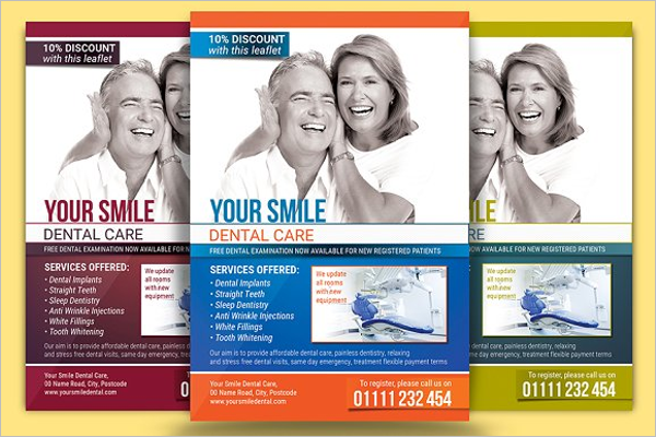 Dental Flyer Design Idea