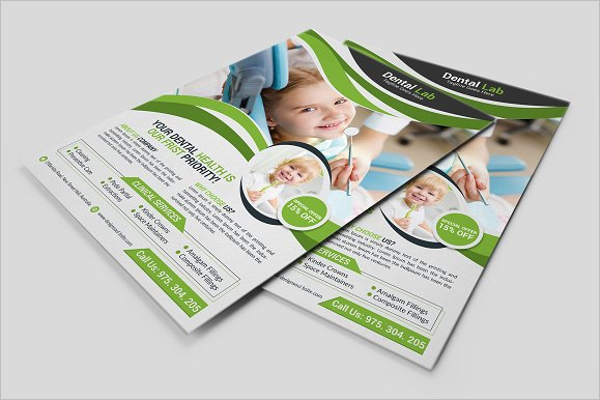 Dental Flyer Design Template