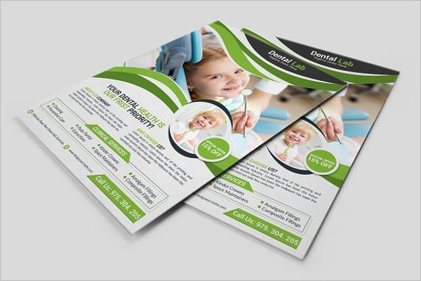 Dental Flyer Design Template