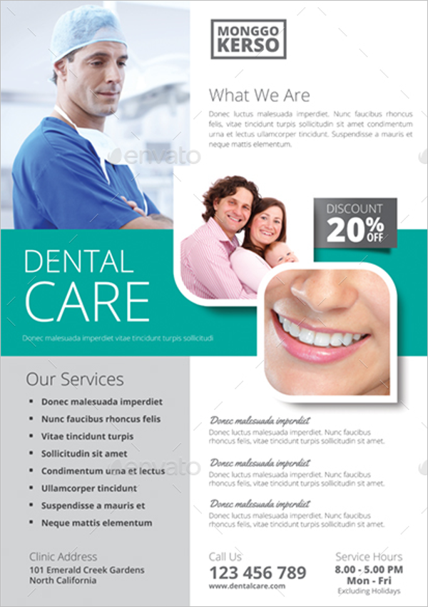 Dental Flyer Design