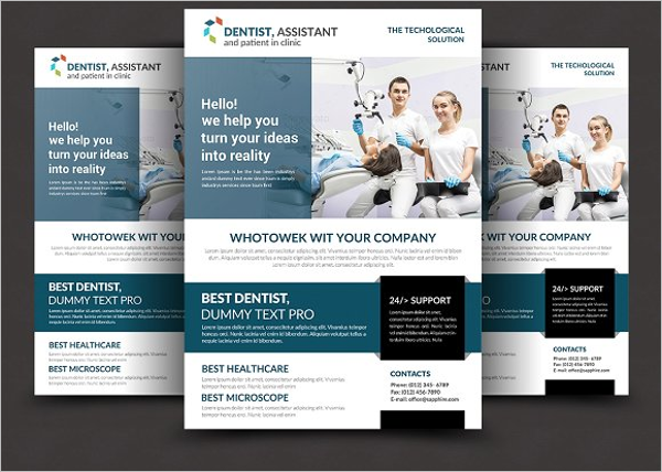 Dental Flyer Example Template