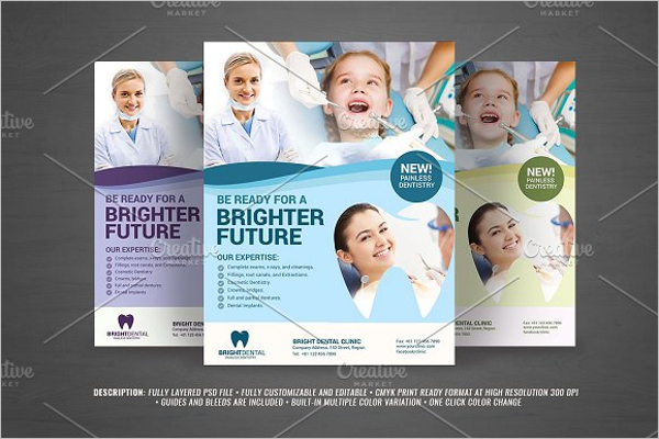 Dental Services Flyer Design