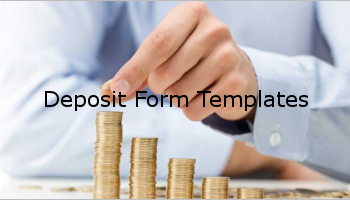 Free Deposit Form Templates
