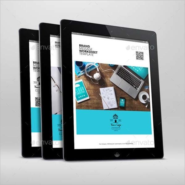 Digital Worksheet Template