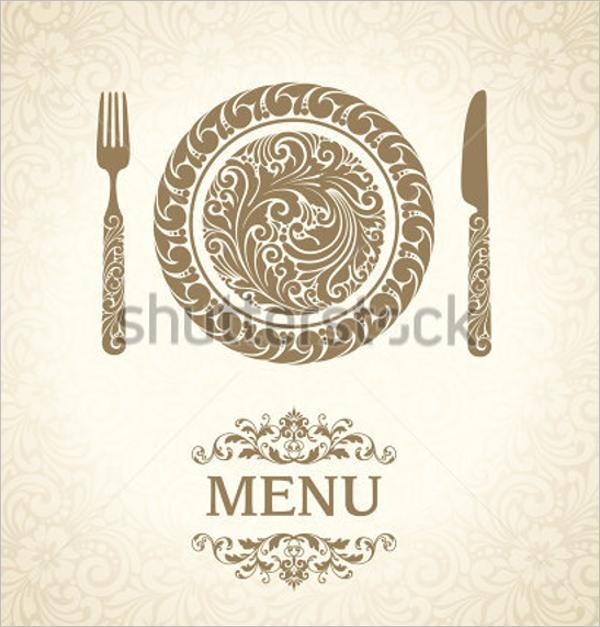 Dinner Menu Design Template