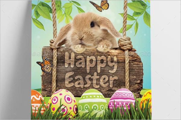 Easter Flyer Template Church