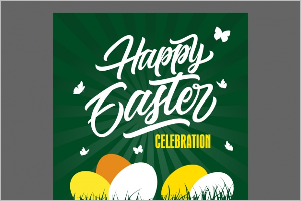Easter Flyer Template Free