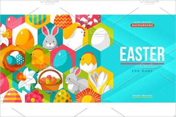 Easter Poster Design Template