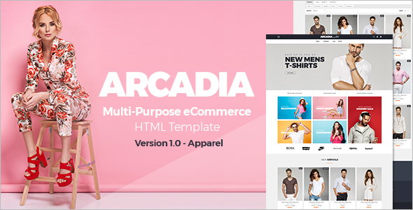 Ecommerce Multipurpose HTML5 Template