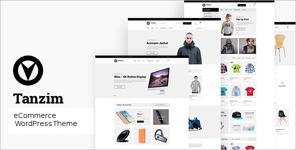 Ecommerce Website Design PSD