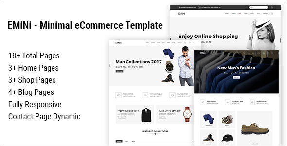 Ecommerece Website Template Bootstrap