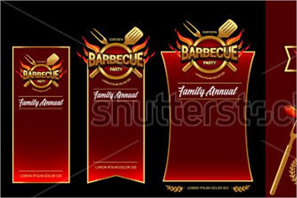 Editable BBQ Brochure Design