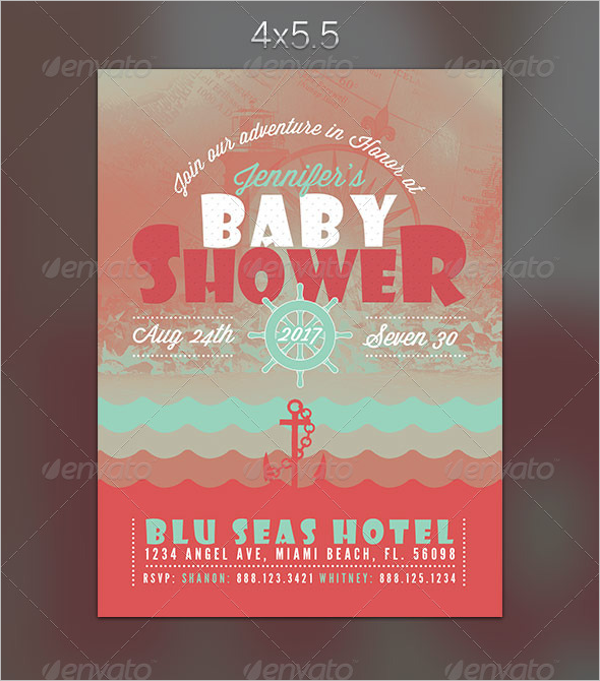 Editable Baby Shower Invitation