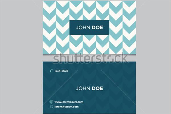 Editable Business Card Design